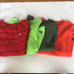 Gap boys shirts. 4 shirt set,  all size medium/8.